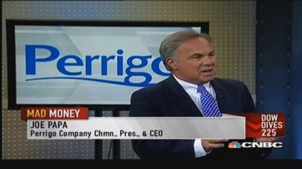 Perrigo CEO: Expect $190 million of new product sales