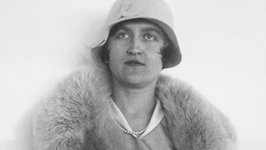 1930 file photo of copper heiress Huguette Clark.