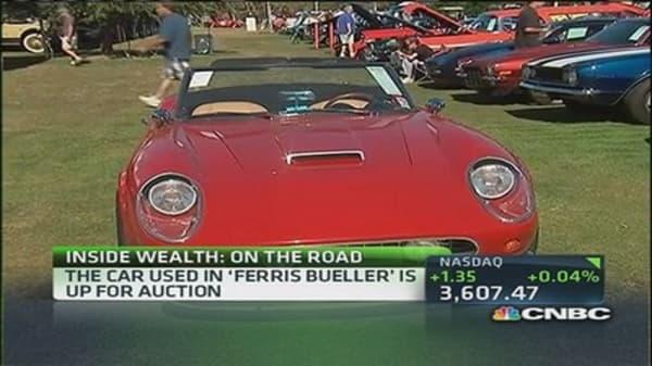 'Ferris Bueller' car up for auction
