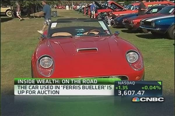 'Ferris Bueller' car up for auction