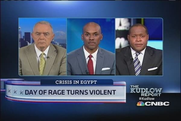 Pres. Obama 'strongly condemns' violence in Egypt