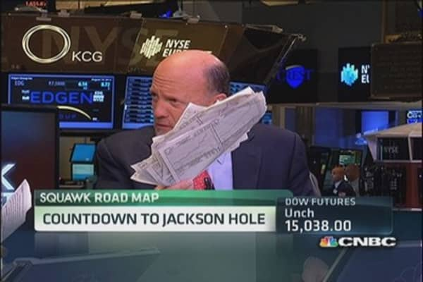Cramer: For markets to stabilize, rates must stop rising
