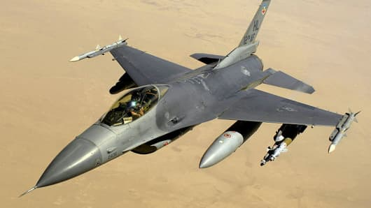 File photo of an F-16 Fighting Falcon.
