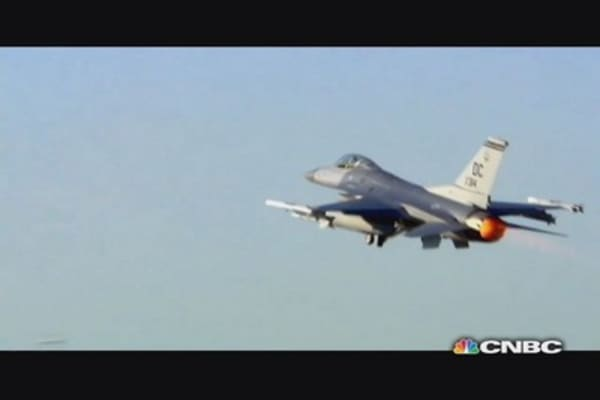 What will happen to Egypt's F-16s?