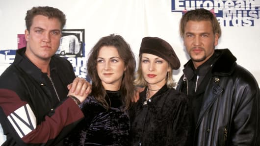 Ace of Base at the MTV Awards Europe in 1994.