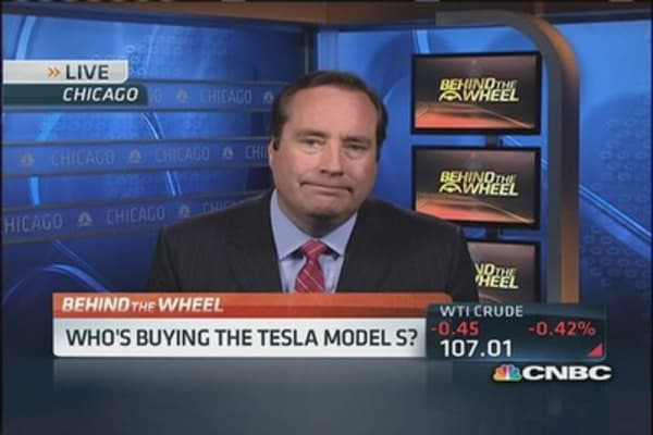 Who's buying the Tesla models?