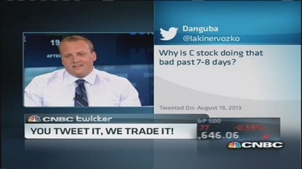 You tweet it, we trade it!