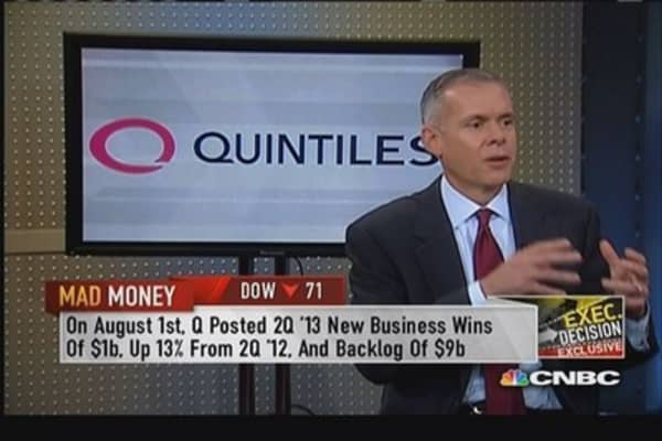 Quintiles CEO: We are confident we're taking share
