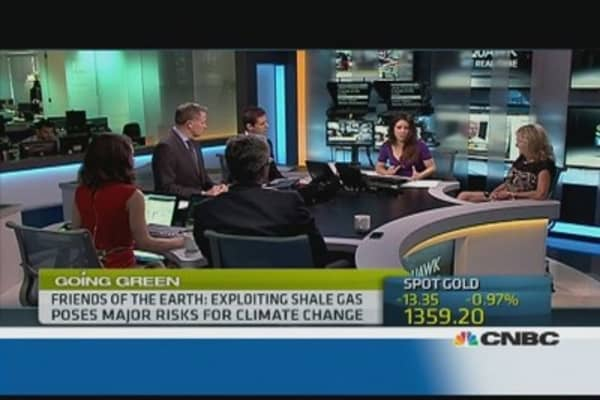 The economic vs. environmental cost of shale gas exploration