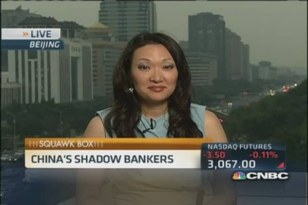 Behind China's shadow banking system