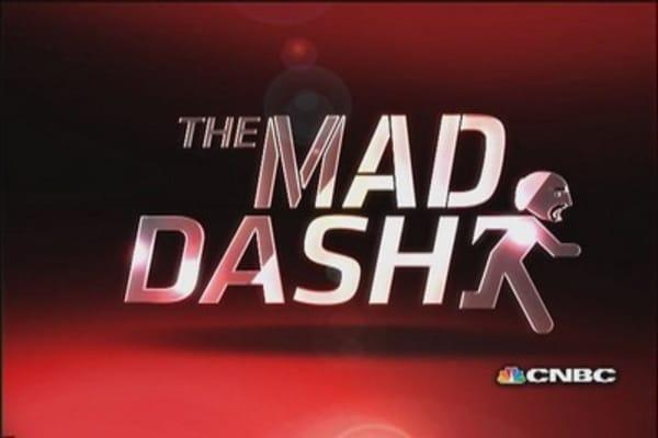 Cramer's Mad Dash: Tasty restaurant plays