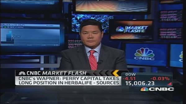 Perry Capital takes long position in Herbalife