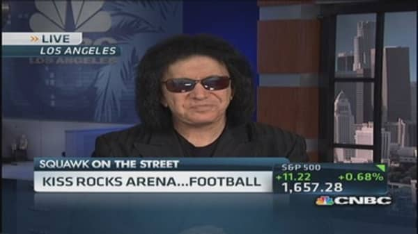 LA KISS rocks arena football