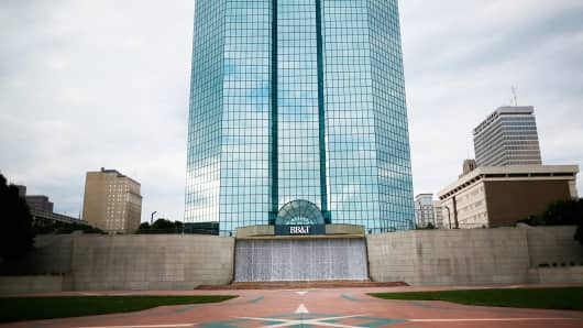 The headquarters of BB&T in Winston-Salem, N.C.