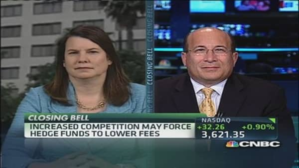 Hedge funds to lower fees?