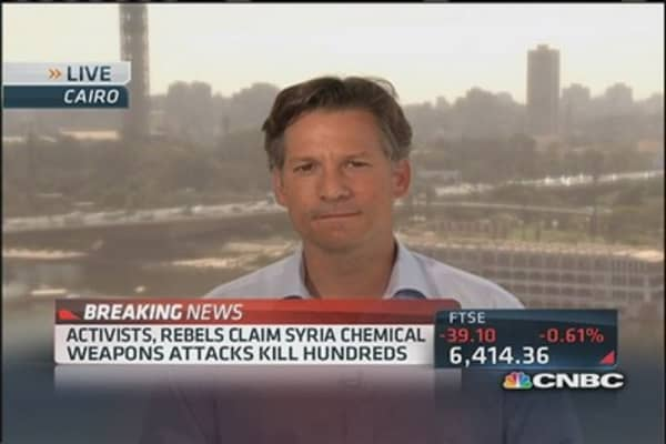 Possible chemical attacks in Syria