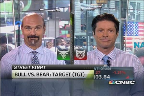 Debate It: Bull vs. bear on Target