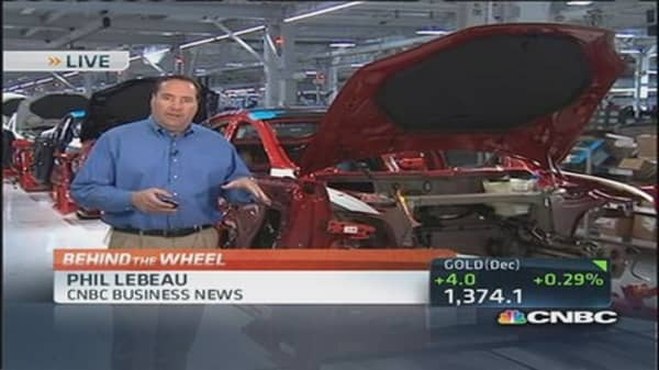 Tesla ramps up Model S production