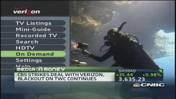 Plot twist in CBS/Time Warner drama