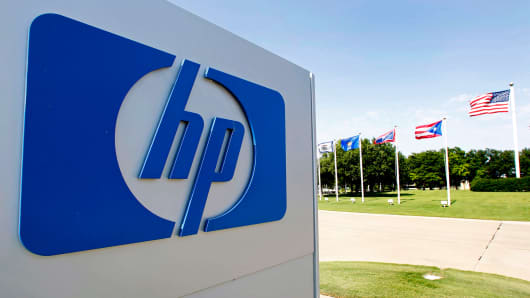 The company's HP Enterprise Services unit in Plano, Texas