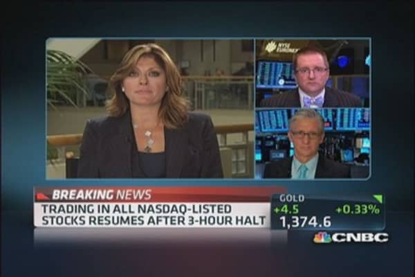 Fmr. SEC chair: 'What happened today at Nasdaq was inexcusable'