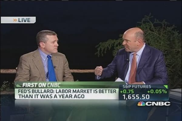 Bullard: We can afford to be deliberate