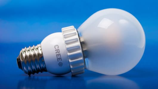 LED bulb by Cree