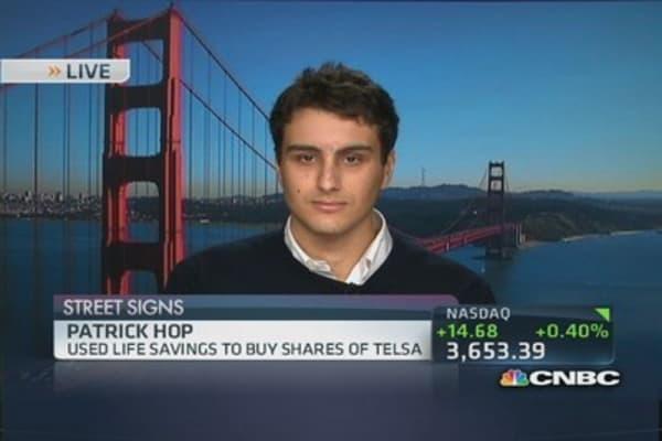 Tesla millionaires?