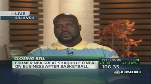 Soup's on for Shaq