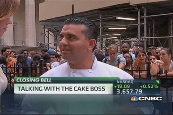 Talking with the Cake Boss