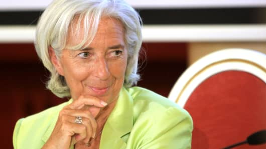 Christine Lagarde, Managing Director of International Monetary Fund