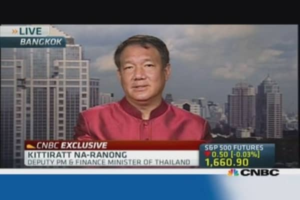 Thailand not in a technical recession: Fin Min