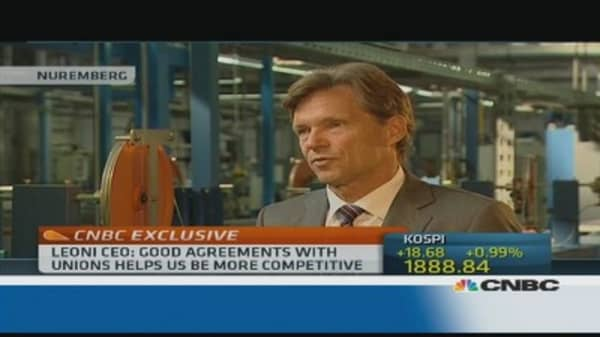 Leoni CEO: Good agreements with unions keep us competitive