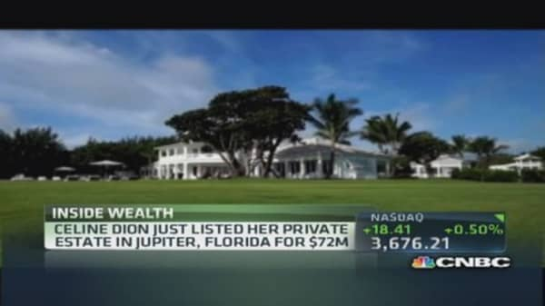 Celine Dion selling $100 million worth of mansions