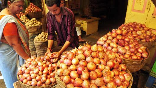 A market in Mumbai.
