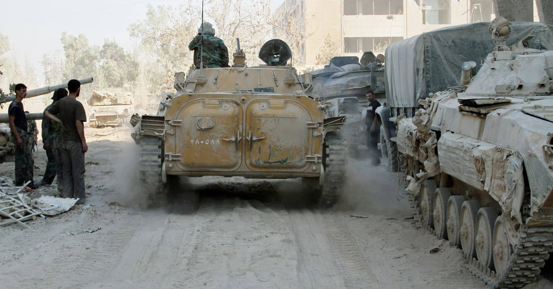 Syrian army, allies seize oilfield from Islamic State in ...