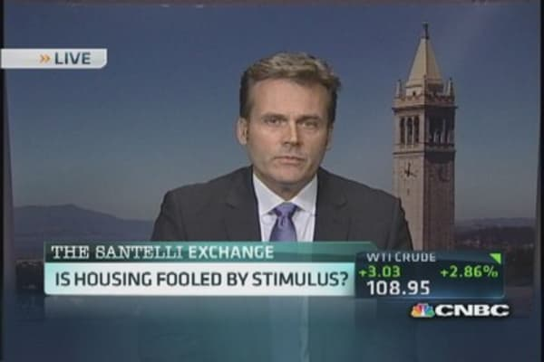 Is housing back in a bubble?