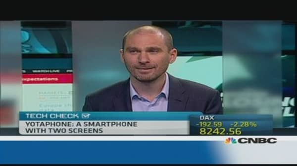 Dual-screen smartphone out soon: CEO