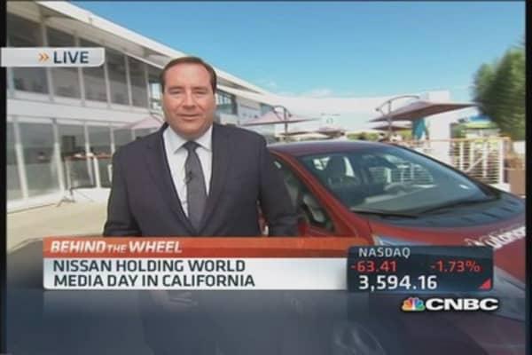Nissan wrestles with rising yen