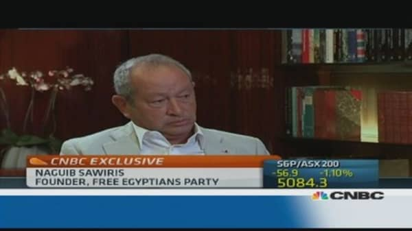 Syria doesn't deserve a 'Taliban type of government': Sawiris