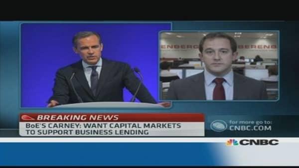 Carney said 'nothing new': economist