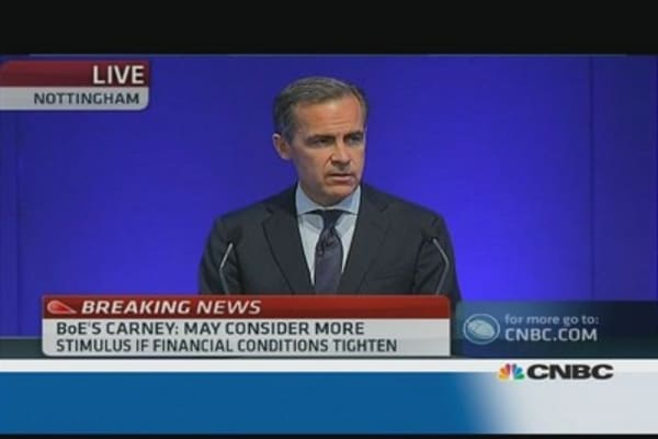 Carney: more economic stimulus possible