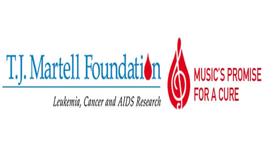 T.J. Martell Foundation Music's Promise for a Cure logo