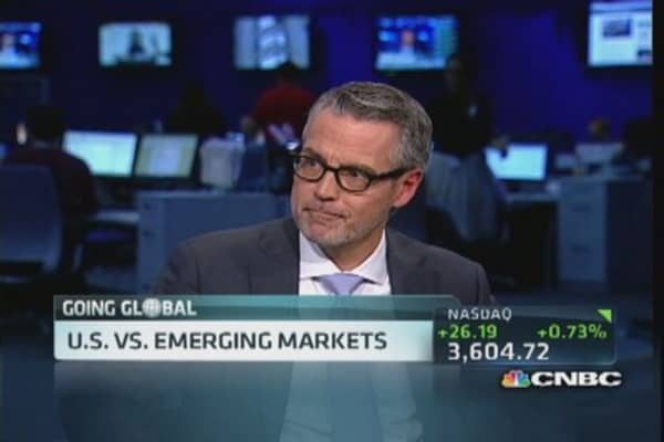 Put brakes on emerging markets?