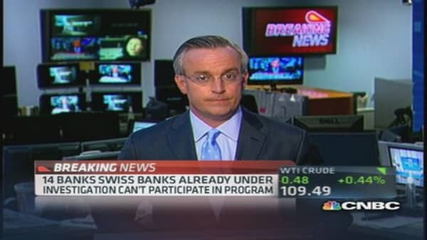 DOJ to unveil program with Swiss banks