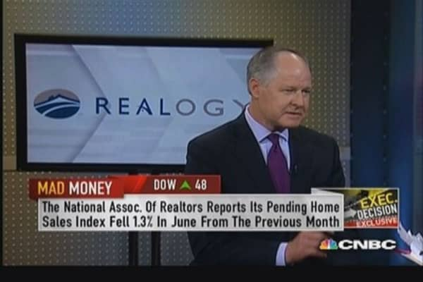 Realogy CEO: Don't think housing pricing reacting to interest rates