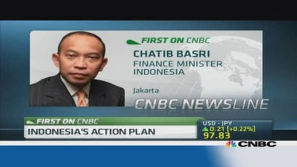 Indonesia's top task is to improve current account deficit: Fin Min