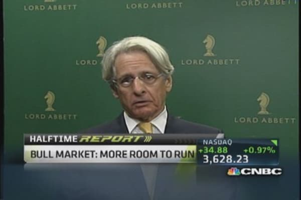 Bull market: Room to run?
