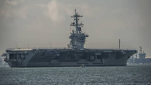 USS Theodore Roosevelt (CVN 71) Redelivered