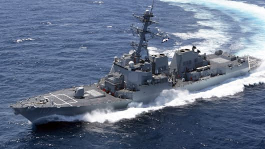 Just before the government shutdown, the Pentagon spent $139 million on sonar for some of its destroyers, part of $5.5 billion in last-minute spending.